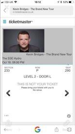 Kevin Bridges tickets x 2