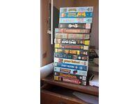 Big box pre cert vhs tapes job lot