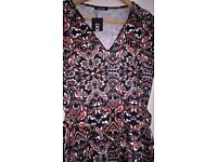Lovely Boo Hoo dress, new with tags, sz 14