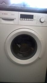 bosh white washing machine 100