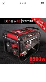2800 watt generator. brand new, used once.