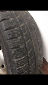 FORD TRANSIT RIM AND GOOD TYRE FOR SALE