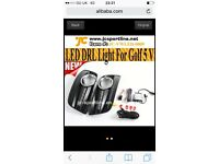 Vw golf gti mk5 daytime running lights