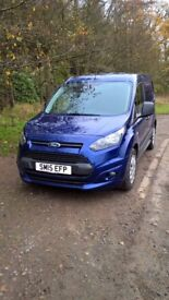 Ford Transit Connect 200 Trend Low Mileage (29607) 2015 15 Short Wheel Base 1560cc Blue Ply lined