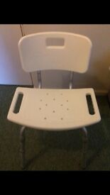 Adjustable shower chair VG clean condition