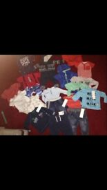 3-6months boys bundle new&used.