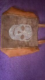 Bessie Skull Handbag