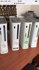 4 xbox 360s ( consoles only no lends ) £15 for all ( bargain )