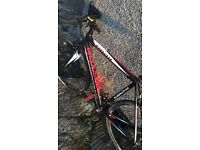 Cannondale 56cm road bike + clothing