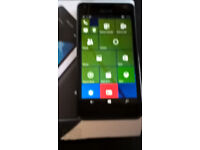 Microsoft Lumia 550 Boxed with credit on 3 mobile good condition.