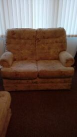 Two seater SOFA with matching CHAIR****FREE****excellent condition