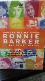 Ronnie Barker DVD's set of 12 in box