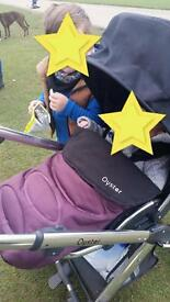 Oyster FULL travel system with ISOFIX base