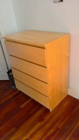 4 draw chest - great condition