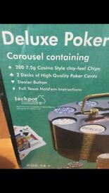 Deluxe Poker carousel and additional chits.