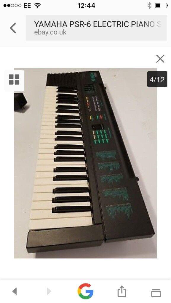 Yamaha par-6 electric piano