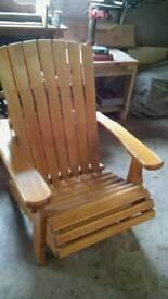Adirondach seat