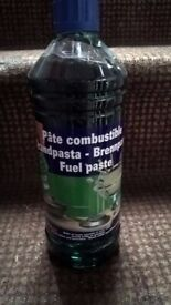 REDUCED! Bulk Gel Fuel paste- Super large 1L bottles, great for CATERING or CAMPING
