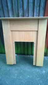 Fire Surround.. Good condition.. Includes Hearth (not quite so good)