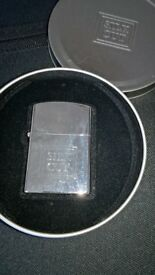 Silk Cut Vintage Windproof Lighter In A Tin As New