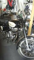 1972 Royal Enfield 500 cc motorcycle