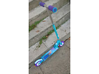 Avengers/Frozen childs folding scooters