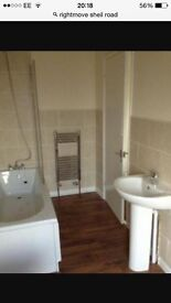 Newly refurbished 2 bed ground floor flat
