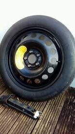 Spare wheel & jack
