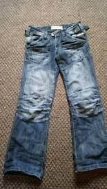 Hoi polloi jeans size 8