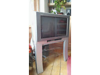 """Panasonic Wide Screen Television 27"""" + Stand + Goodmans Freeview Set Top Box - £95"""