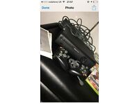 X on 360 elite 2 wirless controls 4 games , headset and instructions , excellent condition