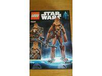 New/Unopened Star Wars Chewbacca Lego