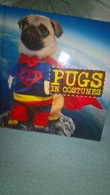 Pugs In Costumes Hardback Book Excellent Condition