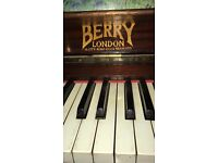 Piano ,reasonably good condition .Probably needs a tune
