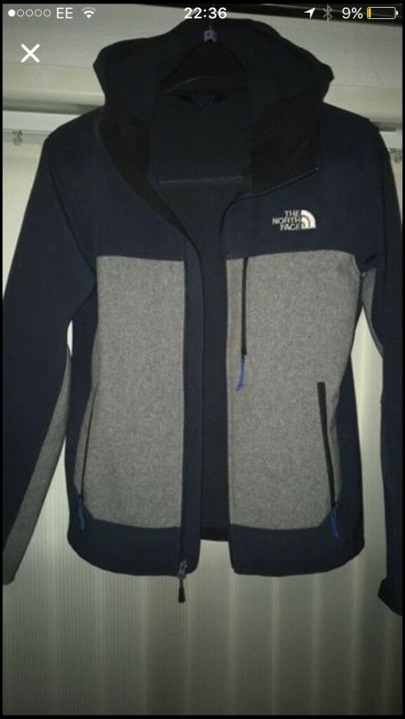 Men's north Face Coat small