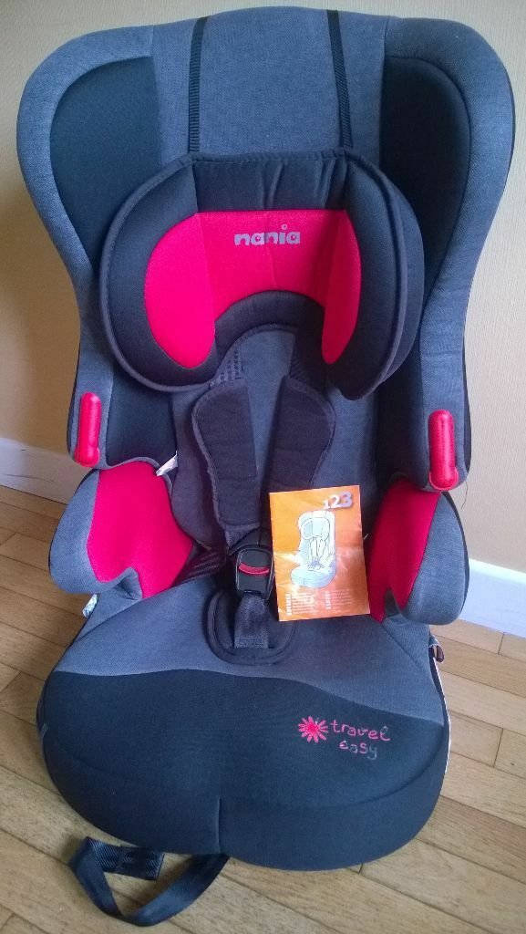Nania travel easy child's car seat (removable back rest ...