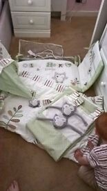 Ollie and Henry Bedding set