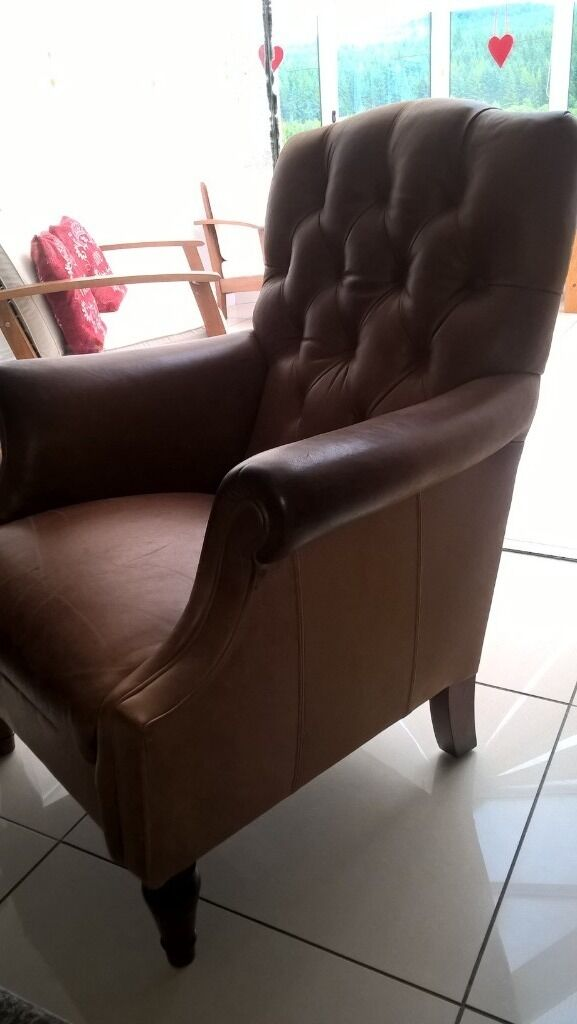 Laura ashley lancaster chair in colorado leather 400 ono in denny falkirk gumtree - Laura ashley office chair ...