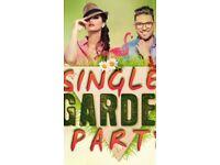SINGLE'S SPRING GARDEN PARTY.
