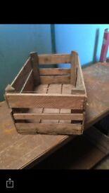 APPLE BOXES FOR SALE - DECORATIVE