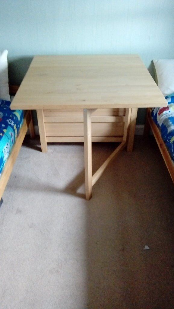 Ikea Norden Gateleg Dining Table Used As A Sewing Table For Sale In Duns Scottish Borders Gumtree