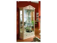 Italian Romany display cabinet
