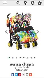 Cosatto double buggy