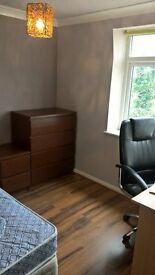 Room for a couple,good bus route, close to all amenities,no deposi, just move in.