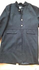 Boys black dress jacket – size 134-140cms (9/10 years) - £5