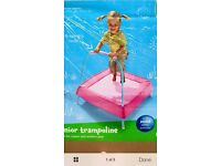 EARLY LEARNING CENTRE ELC BABY GIRLS JUNIOR PINK TRAMPOLINE BRAND NEW IN BOX