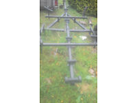 single axle boat trailer for spares repairs