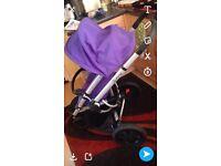 Quinny buzz pushchair prurple