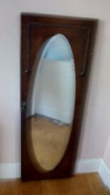 Beautiful Victorian full length mirror £10