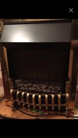Electric fireplace heater in excellent condition
